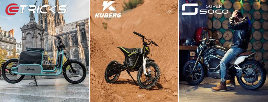 Moto électriques : eTricks / Kuberg / Soco